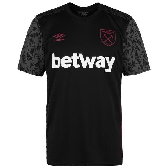 West Ham United Trainingsshirt Herren, schwarz / dunkelgrau, zoom bei OUTFITTER Online
