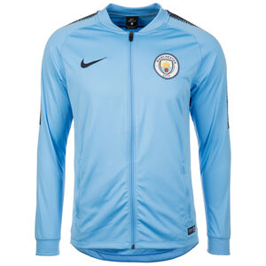 Manchester City Dry Squad Trainingsjacke Herren, hellblau / blau, zoom bei OUTFITTER Online