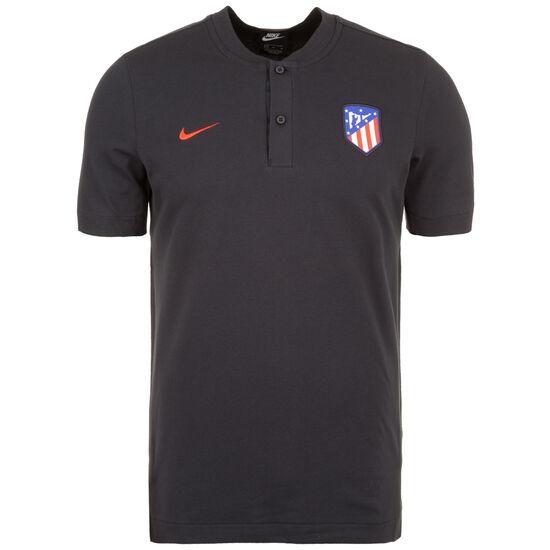Atletico Madrid Poloshirt Herren, schwarz / rot, zoom bei OUTFITTER Online