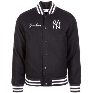 MLB Team App New York Yankees Bomber Jacke Herren, dunkelblau / weiß, zoom bei OUTFITTER Online