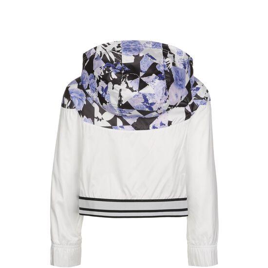 Windrunner Kapuzenjacke Damen, weiß / flieder, zoom bei OUTFITTER Online