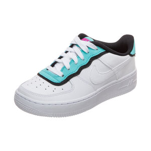 Air Force 1 LV8 Style Sneaker Kinder, weiß / blau, zoom bei OUTFITTER Online