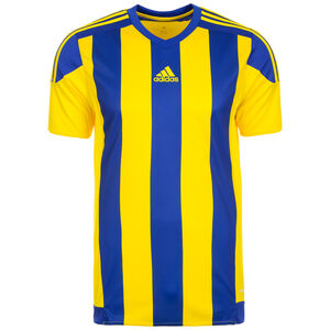 Striped 15 Fußballtrikot Herren, gelb / blau, zoom bei OUTFITTER Online