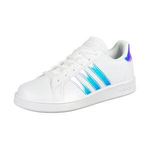 Grand Court Sneaker Kinder, weiß / silber, zoom bei OUTFITTER Online