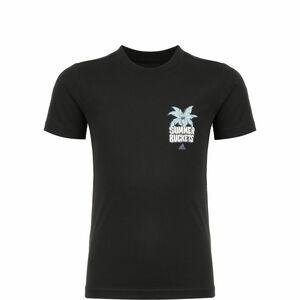 Summer Hoops Basketballshirt Kinder, schwarz / bunt, zoom bei OUTFITTER Online