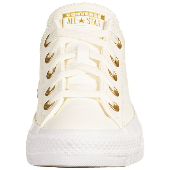Chuck Taylor All Star OX Sneaker Damen, creme / gold, zoom bei OUTFITTER Online