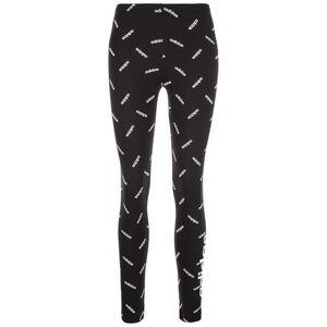 AOP Leggings Damen, schwarz / weiß, zoom bei OUTFITTER Online