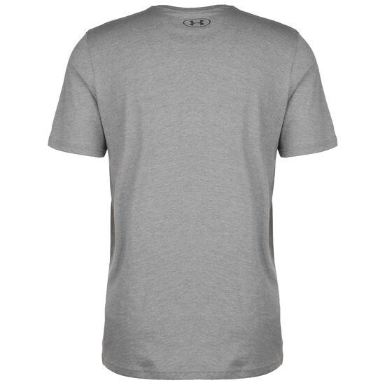 Team Issue Wordmark Trainingsshirt Herren, grau / dunkelrot, zoom bei OUTFITTER Online