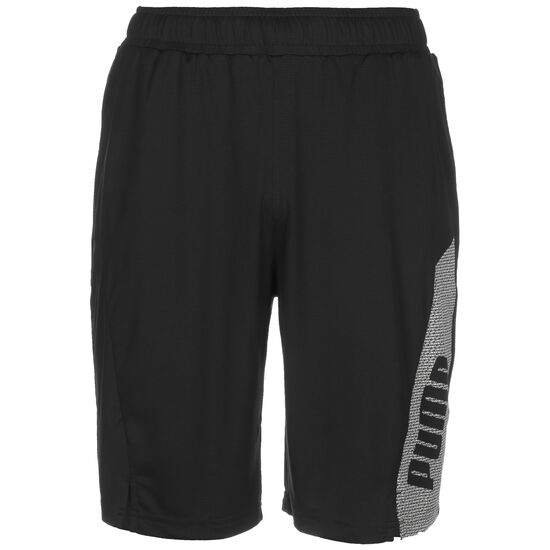 Knitted Session Trainingsshort Herren, schwarz / weiß, zoom bei OUTFITTER Online