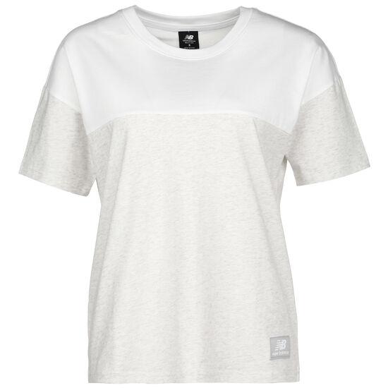 Athletics Terrain Blocked T-Shirt Damen, weiß / beige, zoom bei OUTFITTER Online