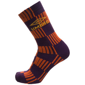 Flatliner Socken, orange / lila, zoom bei OUTFITTER Online