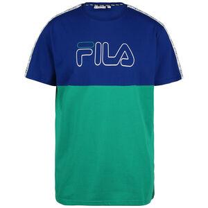 Jopi Blocked Tape T-Shirt Herren, blau / grün, zoom bei OUTFITTER Online