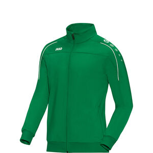 Classico Polyester Trainingsjacke Kinder, grün / weiß, zoom bei OUTFITTER Online