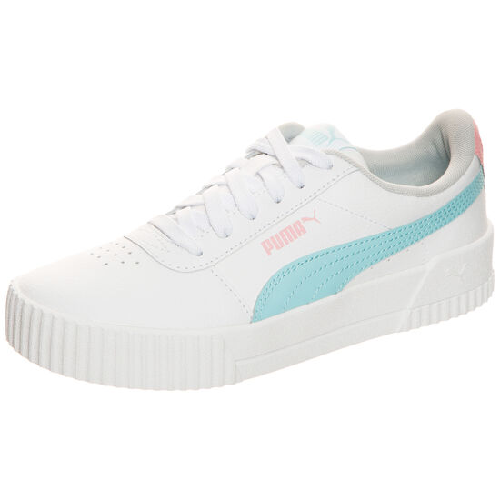 Carina Sneaker Kinder, weiß / hellblau, zoom bei OUTFITTER Online