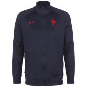 Frankreich I96 Anthem Jacke EM 2021 Herren, dunkelblau / rot, zoom bei OUTFITTER Online