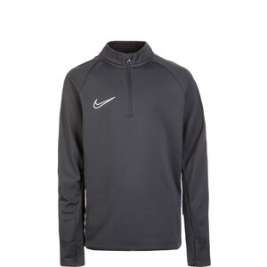 Dry Academy 19 Drill Longsleeve Kinder, anthrazit / weiß, zoom bei OUTFITTER Online