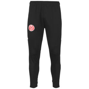 1. FSV Mainz 05 Trainingshose Herren, schwarz / rot, zoom bei OUTFITTER Online
