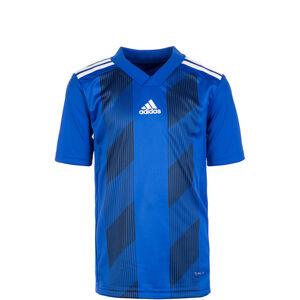 Striped 19 Fußballtrikot Kinder, blau / weiß, zoom bei OUTFITTER Online