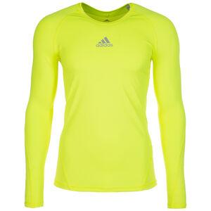 AlphaSkin Sport Trainingsshirt Herren, gelb, zoom bei OUTFITTER Online