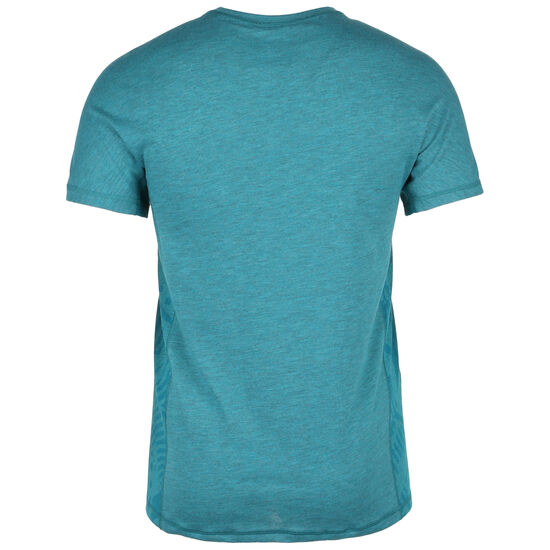 CrossFit Move Print Trainingsshirt Herren, petrol, zoom bei OUTFITTER Online