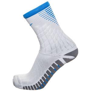 Strike Hypervenom Crew Socken Herren, weiß / blau, zoom bei OUTFITTER Online