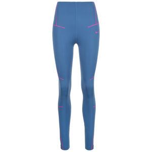 Zig Zag Trainingstight Damen, blau / pink, zoom bei OUTFITTER Online