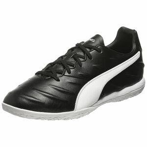 King Pro Indoor Fußballschuh Herren, schwarz / weiß, zoom bei OUTFITTER Online