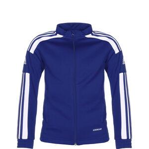 Squadra 21 Trainingsjacke Kinder, blau / weiß, zoom bei OUTFITTER Online