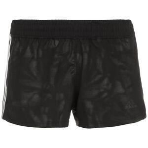 3-Streifen Embossed Shorts Damen, schwarz, zoom bei OUTFITTER Online