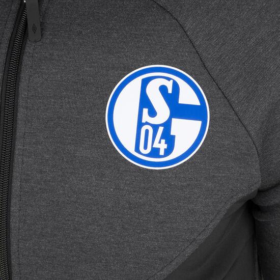 FC Schalke 04 Präsentationsjacke Herren, anthrazit / schwarz, zoom bei OUTFITTER Online
