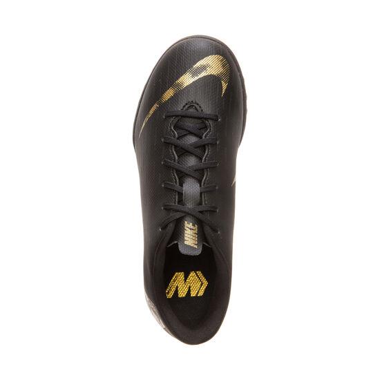 the latest cc972 bfae6 Mercurial VaporX XII Academy TF Fußballschuh Kinder, schwarz / gold, zoom  bei OUTFITTER Online ...