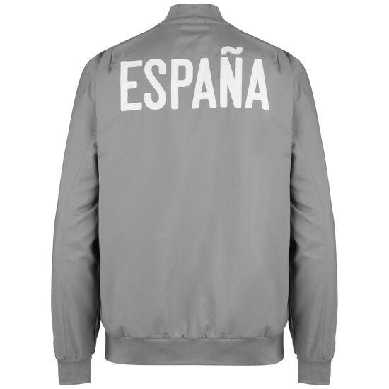Spanien Seasonal Special Jacke EM 2021 Herren, grau / weiß, zoom bei OUTFITTER Online