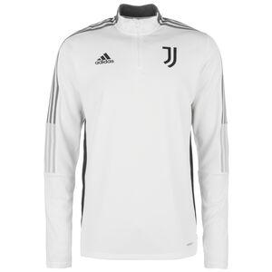 Juventus Turin Trainingssweat Herren, weiß / grau, zoom bei OUTFITTER Online