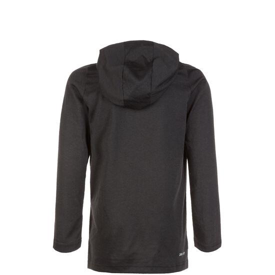 Breathe Hyper Dry Trainingsshirt Kinder, schwarz / grau, zoom bei OUTFITTER Online