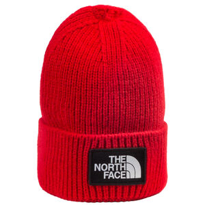 Logo Box Cuff Beanie, rot, zoom bei OUTFITTER Online
