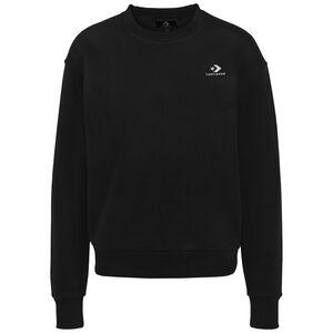 Star Chevron Embroidered Sweatshirt Damen, schwarz, zoom bei OUTFITTER Online