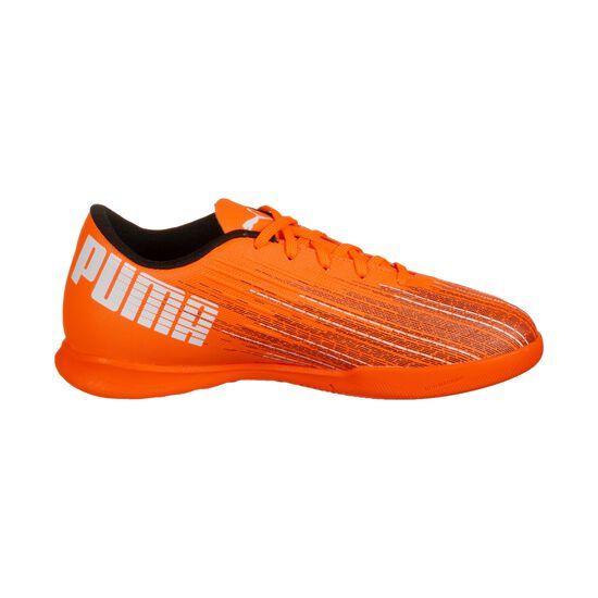 ULTRA 4.1 Indoor Fußballschuh Kinder, orange / schwarz, zoom bei OUTFITTER Online