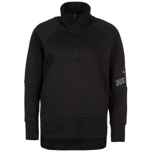 Dry Half-Zip Trainingsshirt Damen, schwarz, zoom bei OUTFITTER Online