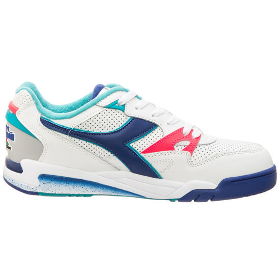Rebound Ace Sneaker Herren, weiß / blau, zoom bei OUTFITTER Online