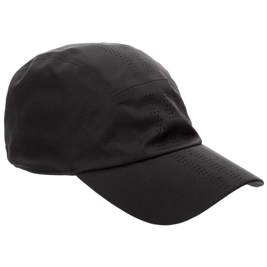 Perforated Runner Fitted Cap, schwarz, zoom bei OUTFITTER Online