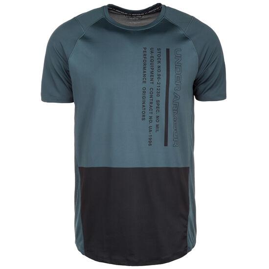 MK1 Colorblock Trainingsshirt Herren, anthrazit / schwarz, zoom bei OUTFITTER Online