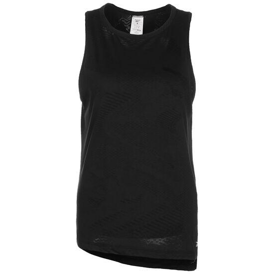 Burnout Trainingstank Damen, schwarz, zoom bei OUTFITTER Online