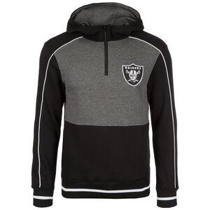NFL Oakland Raiders Quater Zip Kapuzenpullover Herren, Schwarz, zoom bei OUTFITTER Online