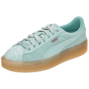 Suede Platform Pebble Sneaker Damen, Grün, zoom bei OUTFITTER Online