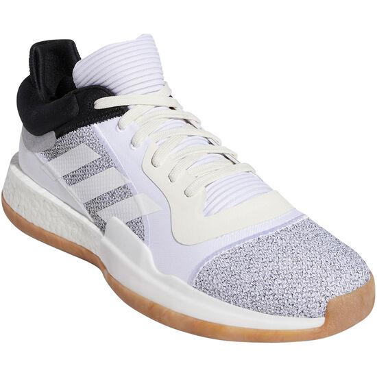 Marquee Boost Low Basketballschuhe Herren, weiß / schwarz, zoom bei OUTFITTER Online