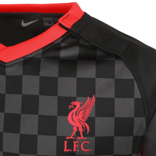 FC Liverpool Minikit 3rd 2020/2021 Kleinkinder, anthrazit / rot, zoom bei OUTFITTER Online