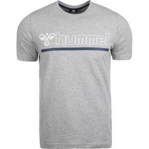 Hml Brick T-Shirt Herren, grau / blau / weiß, zoom bei OUTFITTER Online