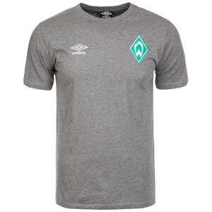 SV Werder Bremen Crew T-Shirt Herren, grau, zoom bei OUTFITTER Online