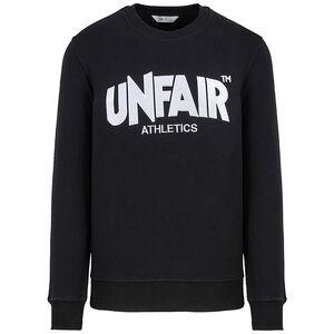 Unfair Classic Label Crewneck Sweatshirt Herren, schwarz / weiß, zoom bei OUTFITTER Online