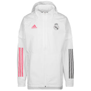 Real Madrid All Weather Jacke Herren, weiß, zoom bei OUTFITTER Online